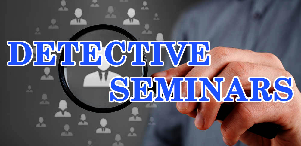 Detective trainings and seminars in the Philippines